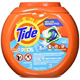 Tide PODS 3 in 1 HE Turbo Laundry Detergent Pacs, Ocean Mist Scent, 57 Count Tub
