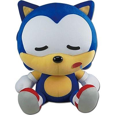 "Great Eastern Entertainment Sonic Hedgehog- Sd Sonic Sleep Sitting Plush 12"" H: Toys & Games"