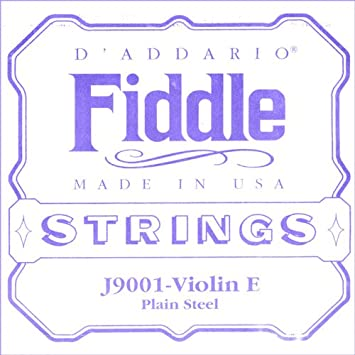 D'Addario Fiddle Single A String, 4/4 Scale, Medium Tension D' Addario J9002