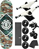 Element Skateboards Sawtooth Skateboard 7.7'' x 31.25'' Complete Skateboard - Bundle of 7 items