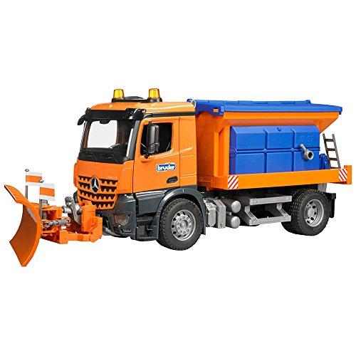 (Bruder MB Arocs Snow Plow Truck )