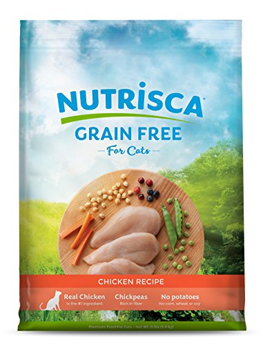 Nutrisca Grain Free Cat Food, Chicken Flavor, 13 Pound