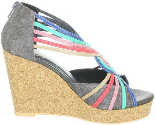Holy Moly Balzac, Women's Sandals Gray - Grau (Grey 20)