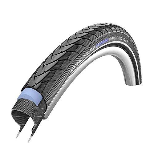 Schwalbe Marathon Plus 700C 45C Wire Clincher Endurance Smart Guard 1100g Tire, Black, 29