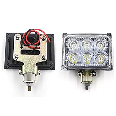 Fullkang 12V 24V 18W 1200LM LED Work Light Lamp for SUV ATV Car Truck Tractor Boat