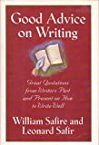 Good Advice on Writing, William Safire, Leonard Safir, 0671770055