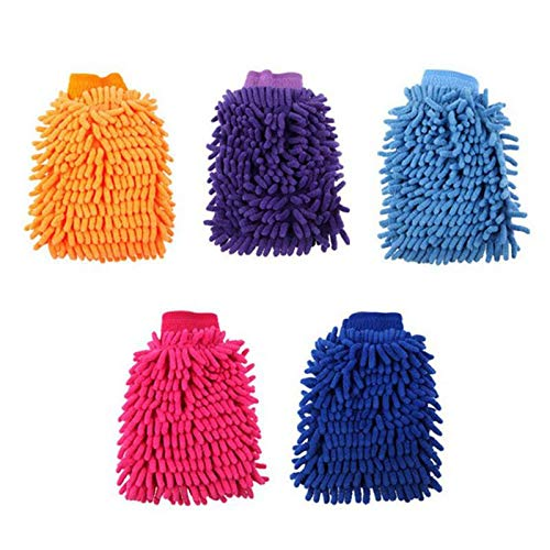 Car Wash Gloves Ultrafine Fiber Chenille Anthozoan Brushes Microfiber Car Motorcycle Washer Car Care Cleaning Brushes Brushes & Dusters VistorHies