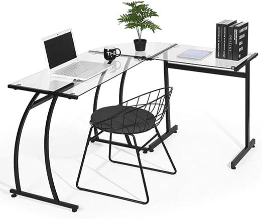 BAKAJI - Escritorio esquinero para PC, diseño Moderno, para ...