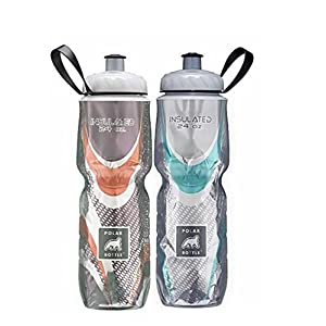 Polar Bottle with Bottle Brush (Spin Cafe & Steel Combo, 24- 2pack)
