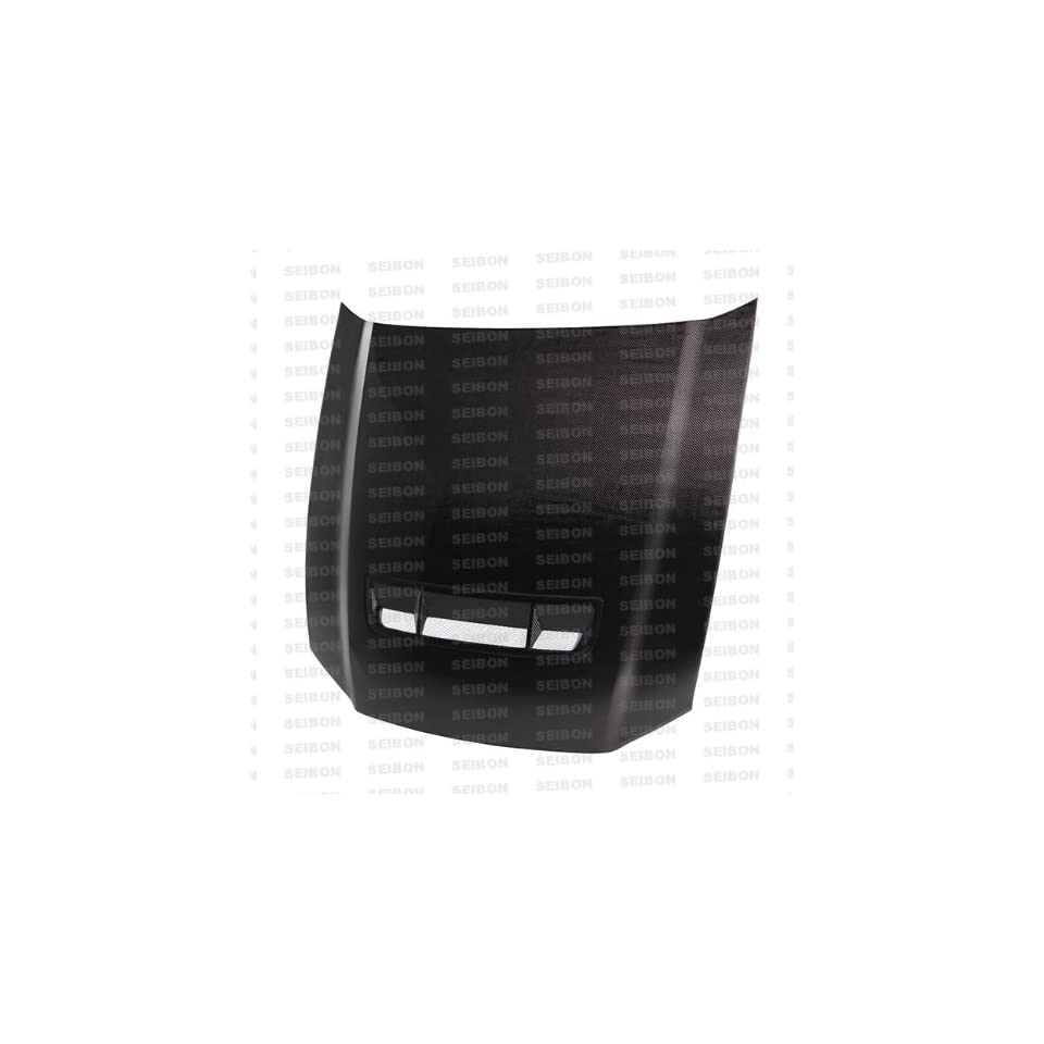 2010 2011 FORD MUSTANG   GT Style CARBON FIBER HOOD *AeroDesigns Authorized Distributor of Seibon Carbon*
