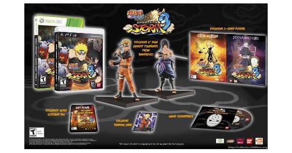 Amazon.com: Naruto Ultimate Ninja Storm 3 Collectors ...