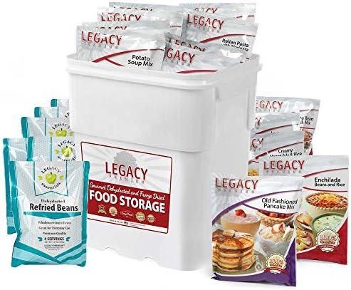 LEGACY FOOD STORAGE EMERGENCY SURVIVAL 16 SERVING BREAKFAST SAMPLE PACK NON GMO