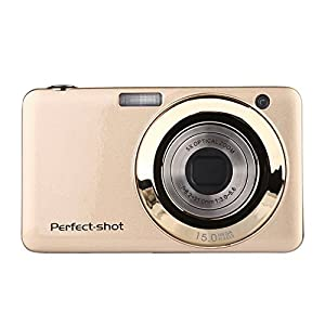 Digital Camera,KINGEAR V600 2.7 Inch TFT 15MP 1280 X 720 HD Digital Video Camera With 5X Optical Zoom and Anti-shake Smile Capture