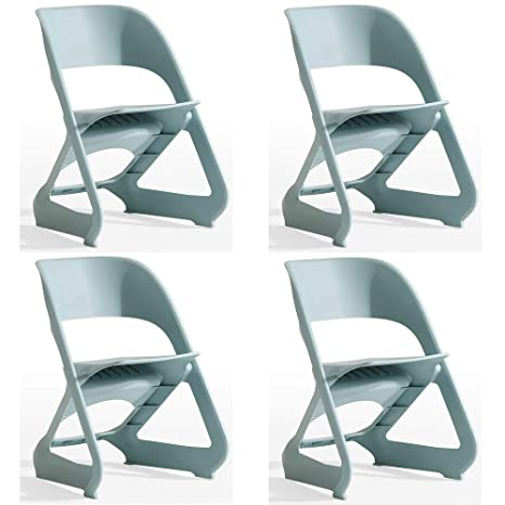 Amazon com - MIMI KING Plastic Dining Chairs, Simple Fashion