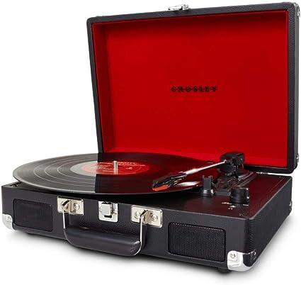 Crosley Cruiser Deluxe Vintage 3-Speed Bluetooth Suitcase ...