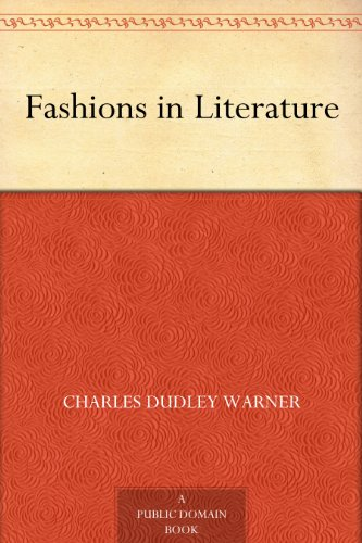 More Books by Charles Dudley Warner