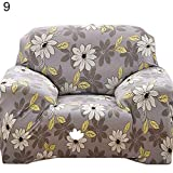 PlenTree Patoral treth ofa nit Over ae Floral Printed lipover Home Deor: 9