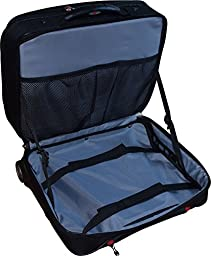 SwissGear Potomac 2-Pc Business Set With Double Zipper Overnighter Rolling Case And Matching 15.4\