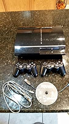 Ps3 Sony Playstation 3 60gb 60 gig Fully Backwards Compatible Model CECHA01 Console System with 4 USB ports and Memory card reader ports