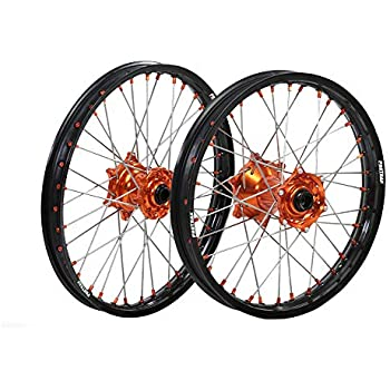 ProTrax Complete Rear Wheel Rim 18X 2.15 Orange Hub KTM 125SX 150SX 250XC 13-17