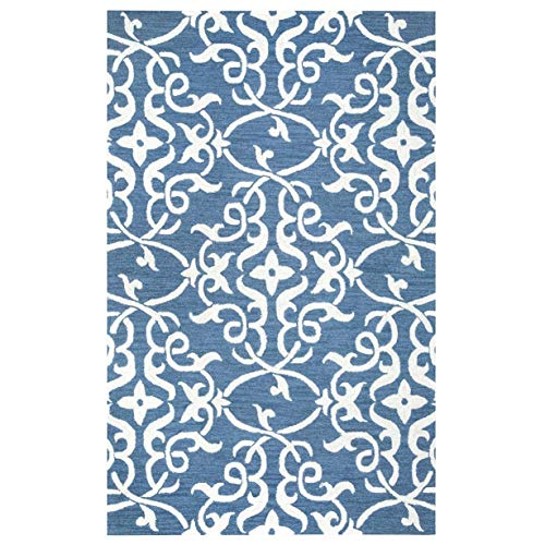 (Rizzy Home Torino Collection LR9613 Area Rug (5' x 8') - 5' x 8')