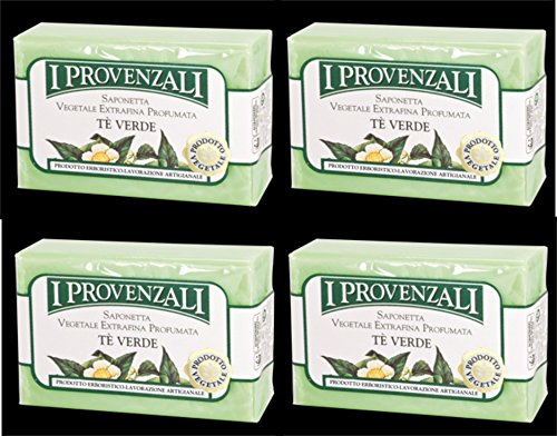 i-provenzali-te-verde-vegetable-perfumed-soap-green-tea-scent-35-ounce-100g-packages-pack-of-4-itali