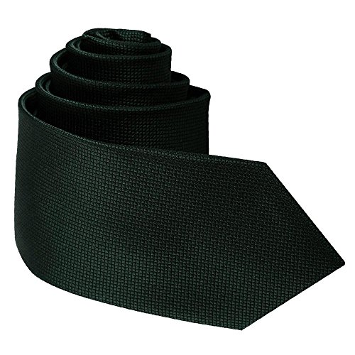 Slim Dark Men Green Neck Tie DQT Solid Check 1xXqwtd