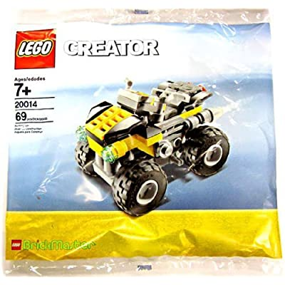 LEGO Creator Set #20014 Brickmaster Quad Bike: Toys & Games