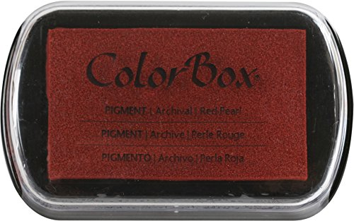 ColorBox 19096 Red Pearl Pigment Metallic Inkpad, 4