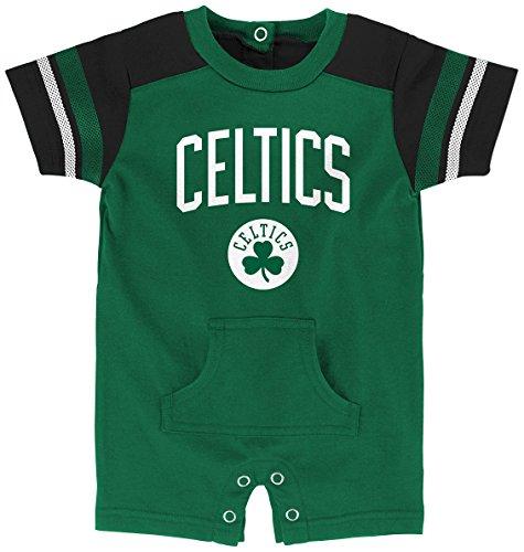 NBA Newborn & Infant Romper Boston Celtics-Kelly-0-3 Months
