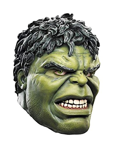 Incredible Hulk Costumes For Men (Giant Green Hulk Halloween Masquerade Party Cosplay Latex Mask 2014 HLWMSK11)