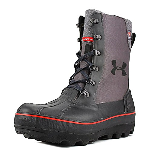 Under Armour UA Clackamas 200 Boot - Men's Black / Charcoal / Big Apple Red - Clackamas Stores