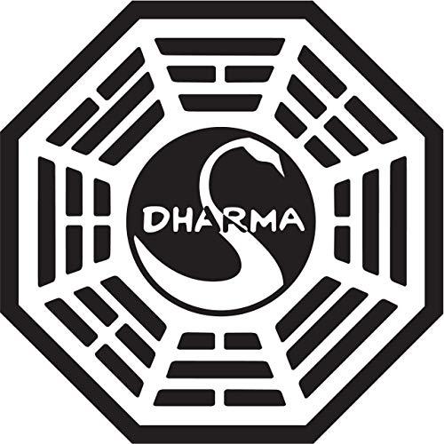 Dharma Initiative Vinyl Decal Sticker (Annual Sticker Pass Disney)