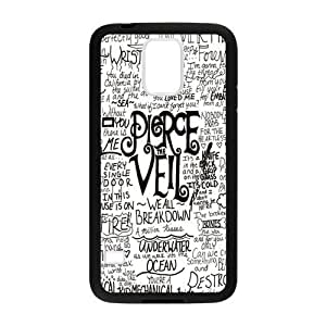 Caitin Simple Fashion Pierce the Veil Quotes Cases Cover Protection Hard Shell for Samsung Galaxy S5