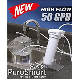 PuroSmart High Flow RO System, Countertop Home Water Treatment System