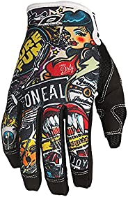 O'Neal 0385-128 Jump Gloves with Crank Graphic (Black/Multicolor, Siz