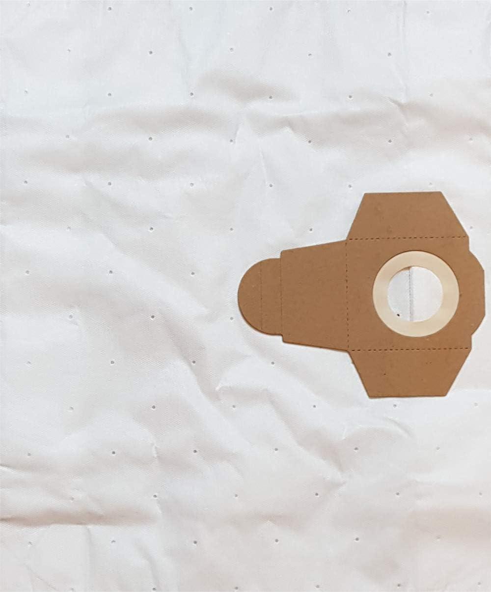 4 bolsas de aspiradora LS 4 m para Omega Rio Serie, Einhell NTS ...