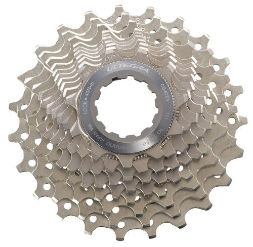 SHIMANO CS-6700 Ultegra Bicycle Cassette (10-Speed, 11/25T) by SHIMANO