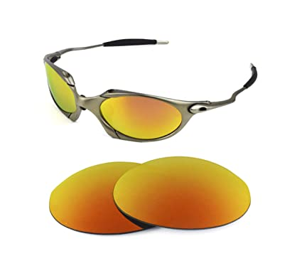 16e54301e5 NEW POLARIZED REPLACEMENT FIRE RED LENS FOR OAKLEY ROMEO 1.0 SUNGLASSES