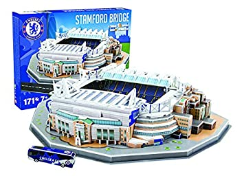 Giochi Preziosi 70037251 - Puzzle 3D Estadio de Stamford Bridge del Chelsea, 171 uds.