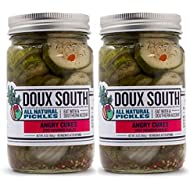 Angry Cukes, Dill Pickle Slices- 2 Pack