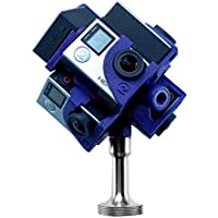 360Heros Pro7 | 360 Degree Plug-n-Play Filming 7 Cameras Holder for GoPro Hero3 Hero3+ Hero4 Series