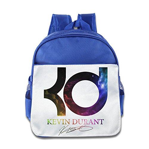 HYRONE Kevin KD Logo Kids School Bagpack For 1-6 Years Old RoyalBlue