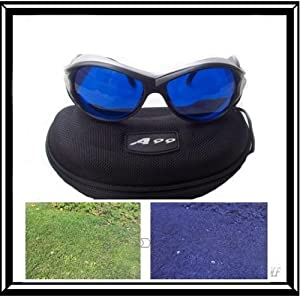 A99 Golf Ball Finder Located Glasses Sliver Frame with Case E2 in gift box