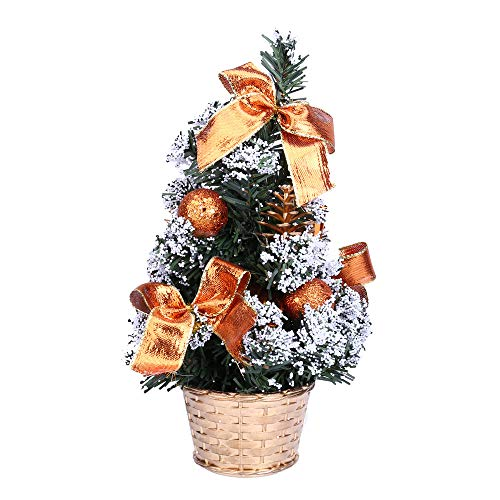 Christmas Gift Hot Sale!!!Kacowpper Mini Christmas Tree Ornament Desk Table Festival Xmas Party Decor Gifts 25cm