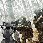 332PageAnn Masque Tactique extérieur Système de Bandeau à Deux Modes, Masque de Protection Tactique Visage Inférieure… 9