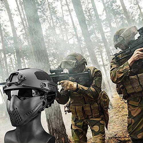 332PageAnn Masque Tactique extérieur Système de Bandeau à Deux Modes, Masque de Protection Tactique Visage Inférieure… 4