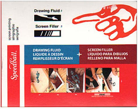 Speedball Drawing Fluid and Screen Filler Kit 1 pcs sku# 1845320MA
