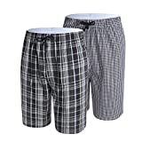 JezMax Men's Sleep Shorts Lounge Sleepwear 2 Pack