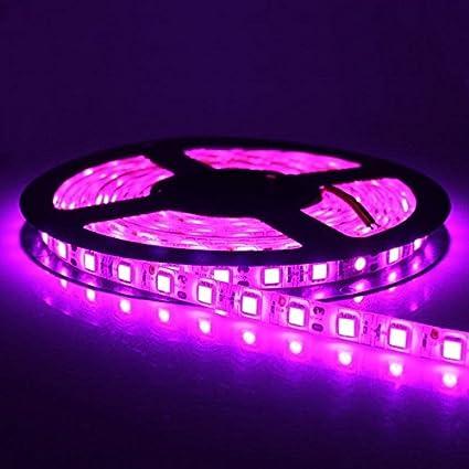 amazon com cmc led light strip lamp pink waterproof strip indoor